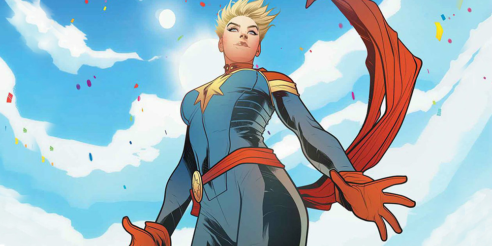 Captain Marvel Writer Says Carol Danvers is 'A Joy to Write'