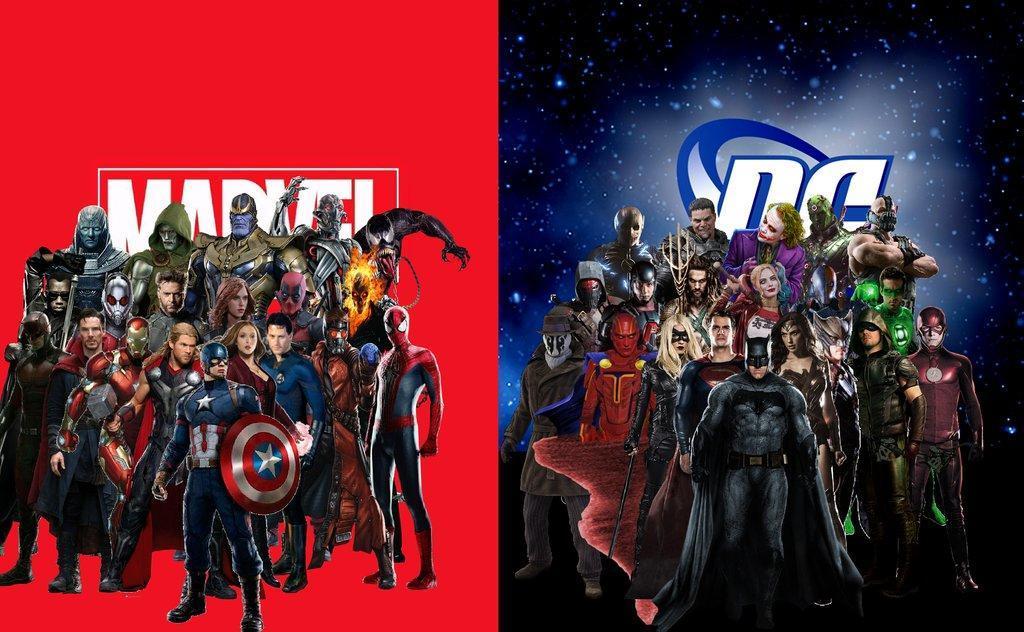 DC/Marvel Crossover movie