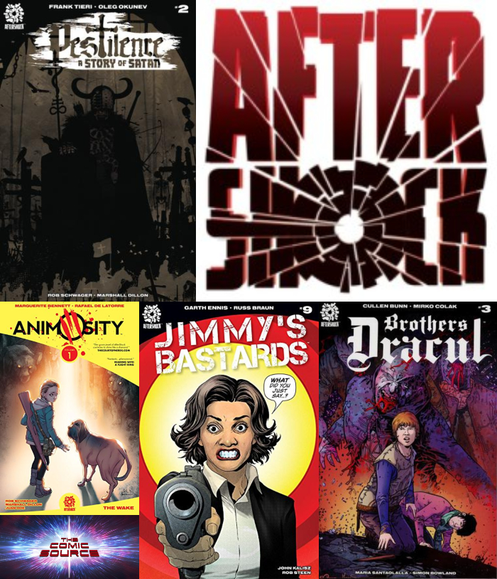 The Comic Source Podcast Episode 387 – AfterShock Monday Catch-Up