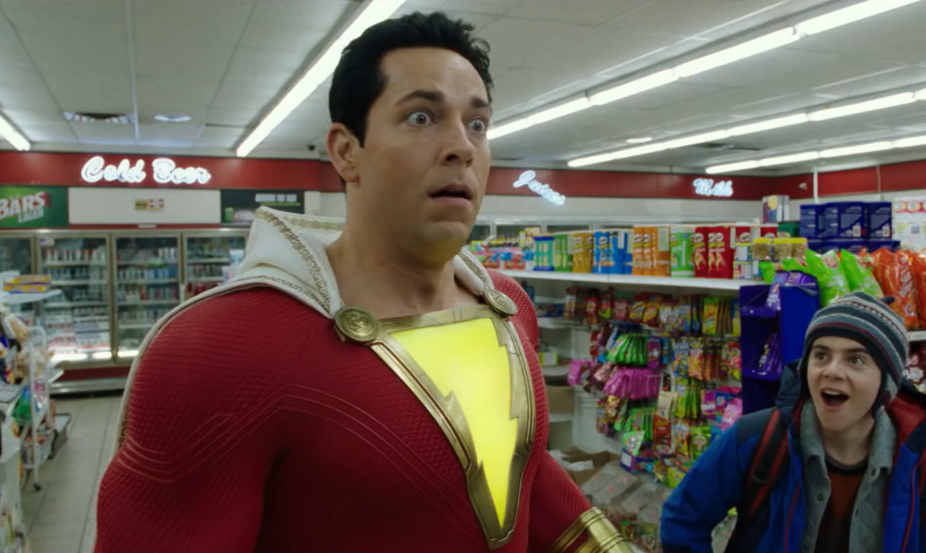 The Shazam Trailer Says the Magic Word!