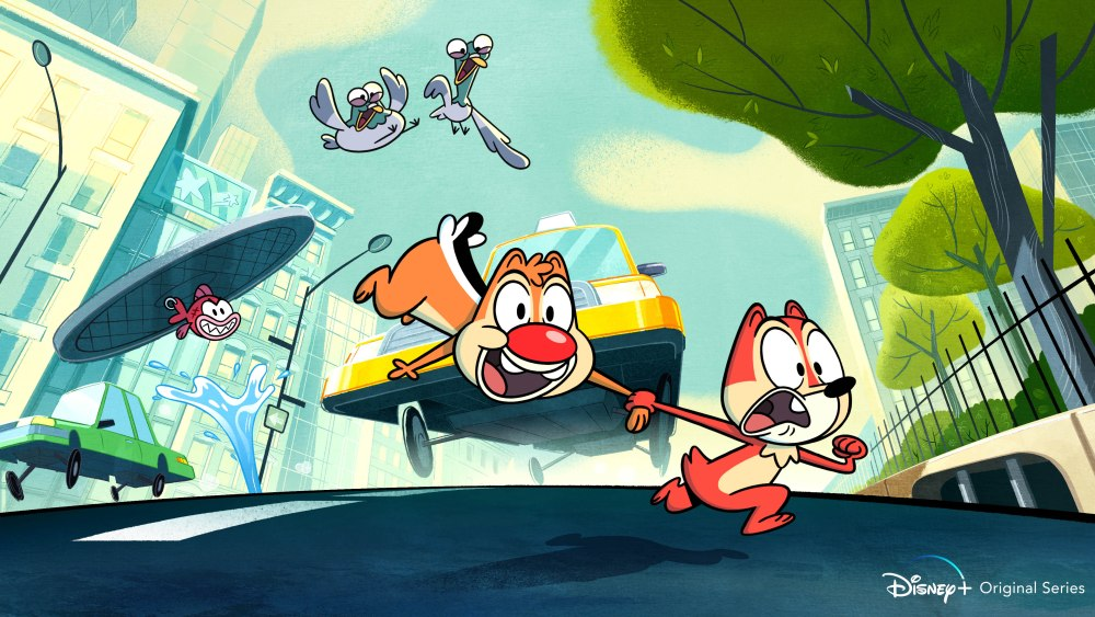 Disney+: Chip 'N Dale Reboot, Monsters At Work Images And Details