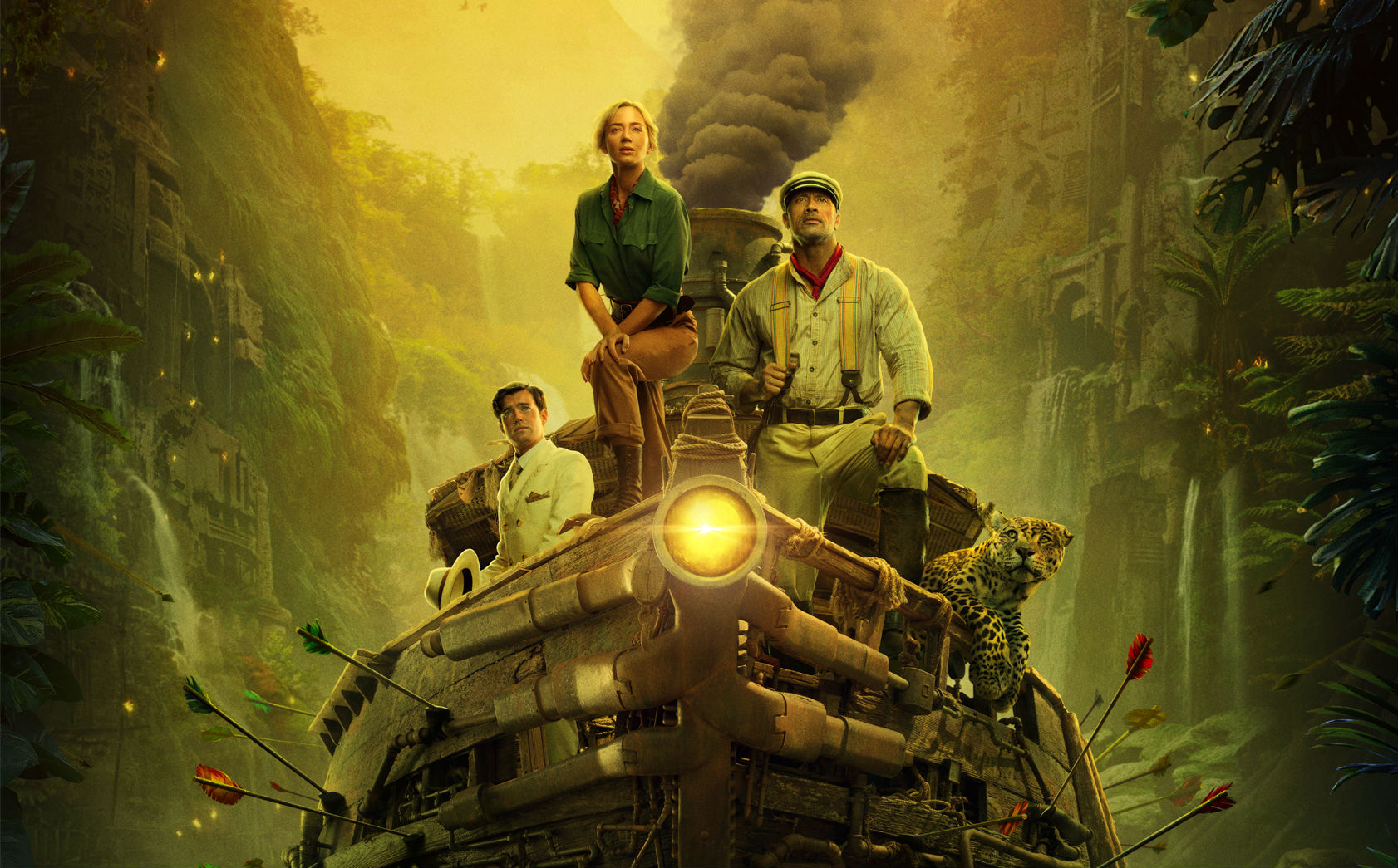 Disney's Jungle Cruise Looks Like A Rip-Roaring Good Time In New Trailer!