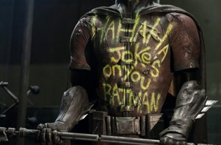 How The Batman V Superman Robin Suit Was Made