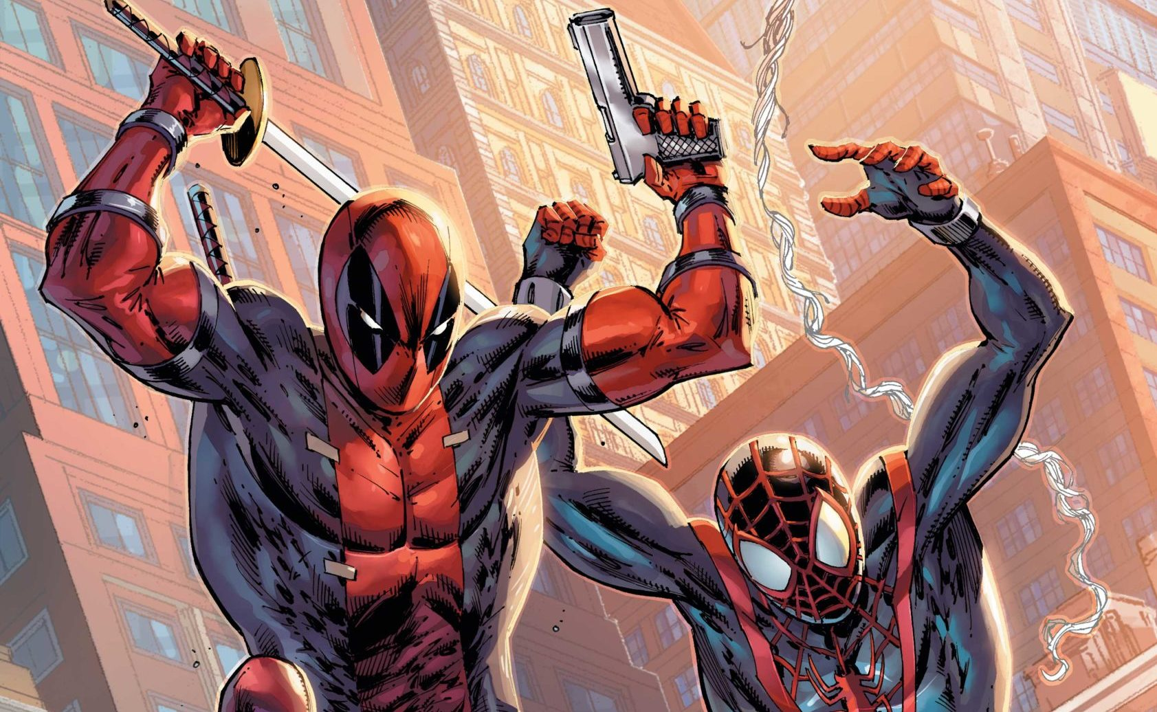 Celebrate Deadpool Entering His Dirty Thirties With Variant Covers!