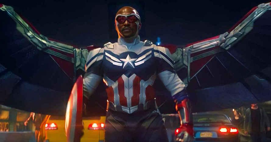 Mackie's run as Captain America