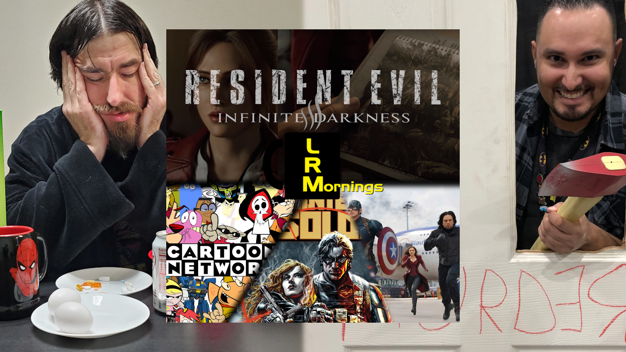 Video Game Movies, Animation Stagnation, Ed Brubaker And The Winter Soldier LRMornings 4-16-21