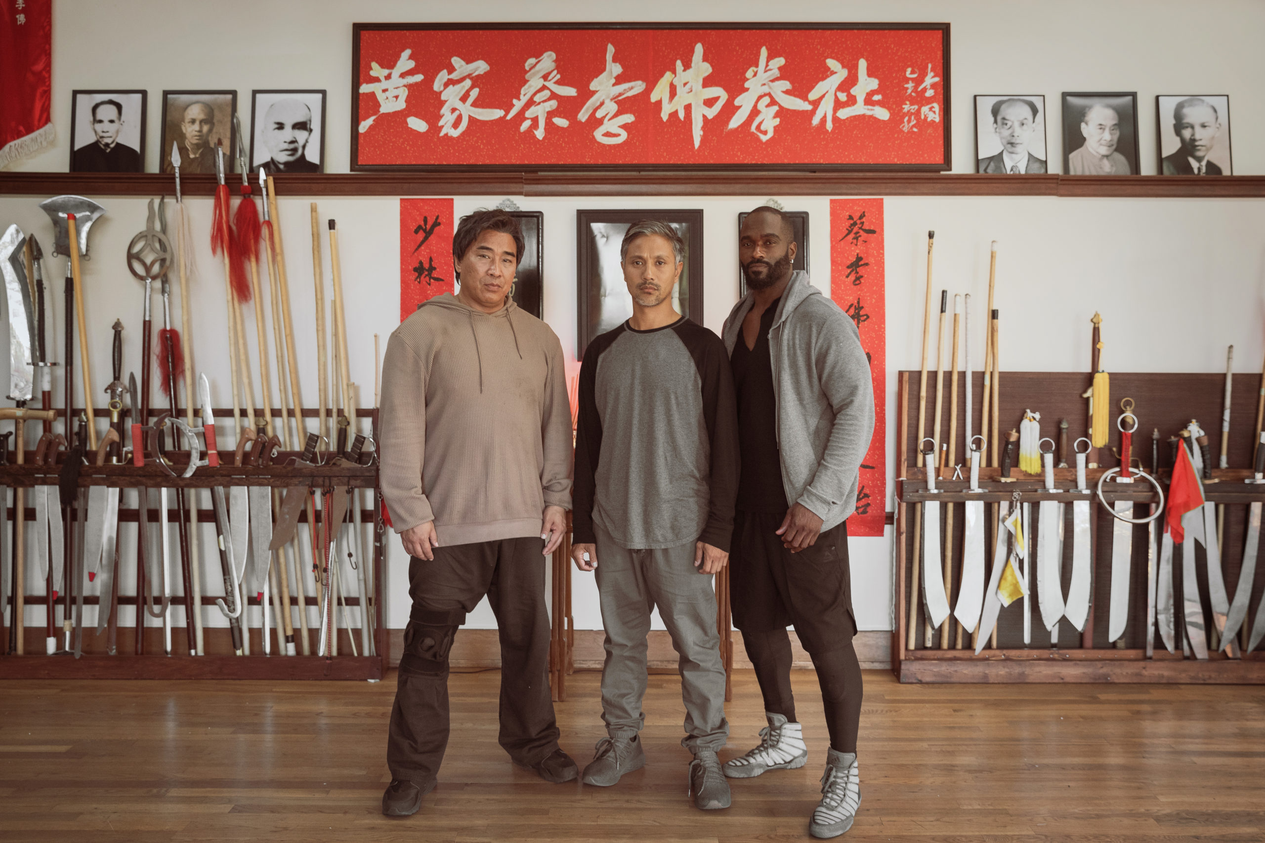 Alain Uy, Ron Yuan, and Mykel Shannon Jenkins on Kung Fu Bonding in The Paper Tigers [Exclusive Interview]