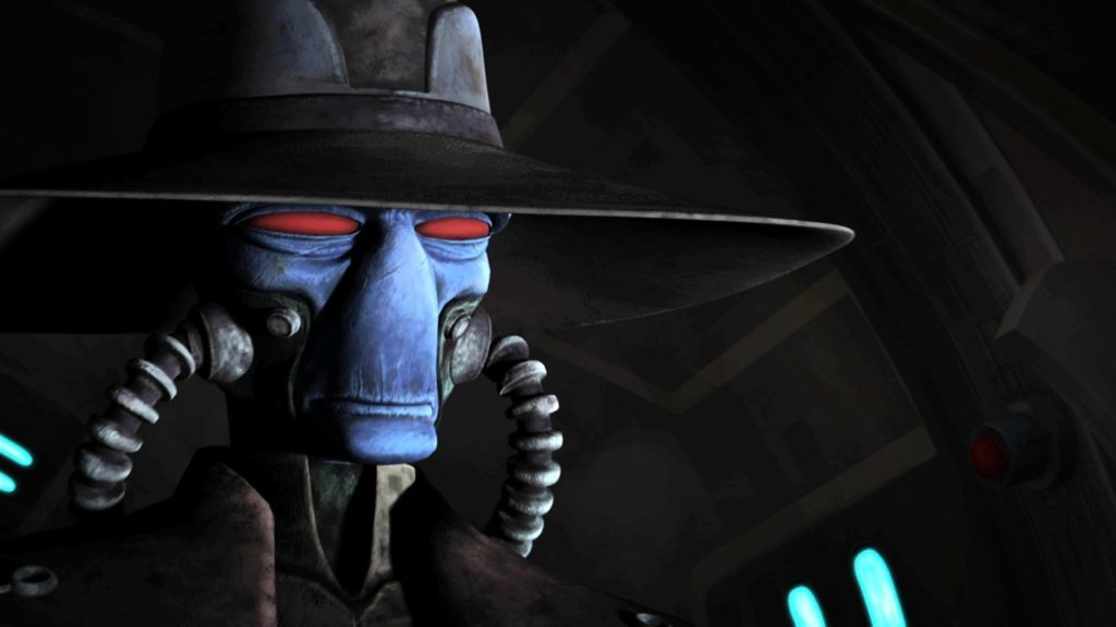 Book of Boba Fett Cad Bane in The Bad Batch