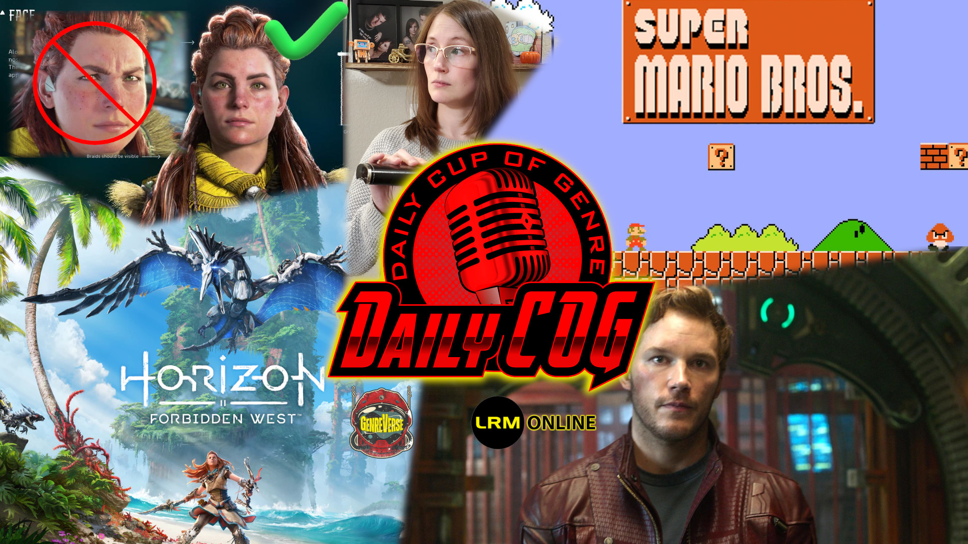 """Aloy's Face Fixed In Horizon: Forbidden West, A Woman On """"Real"""" Women, Chris Pratt As Mario Stirs Trouble 